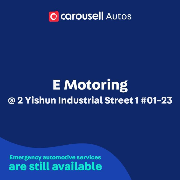 E Motoring - Emergency automotive services still available