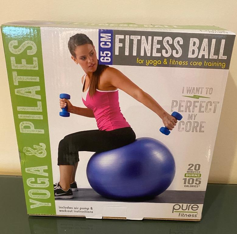 Fitness Ball -- New In the Box, never used.