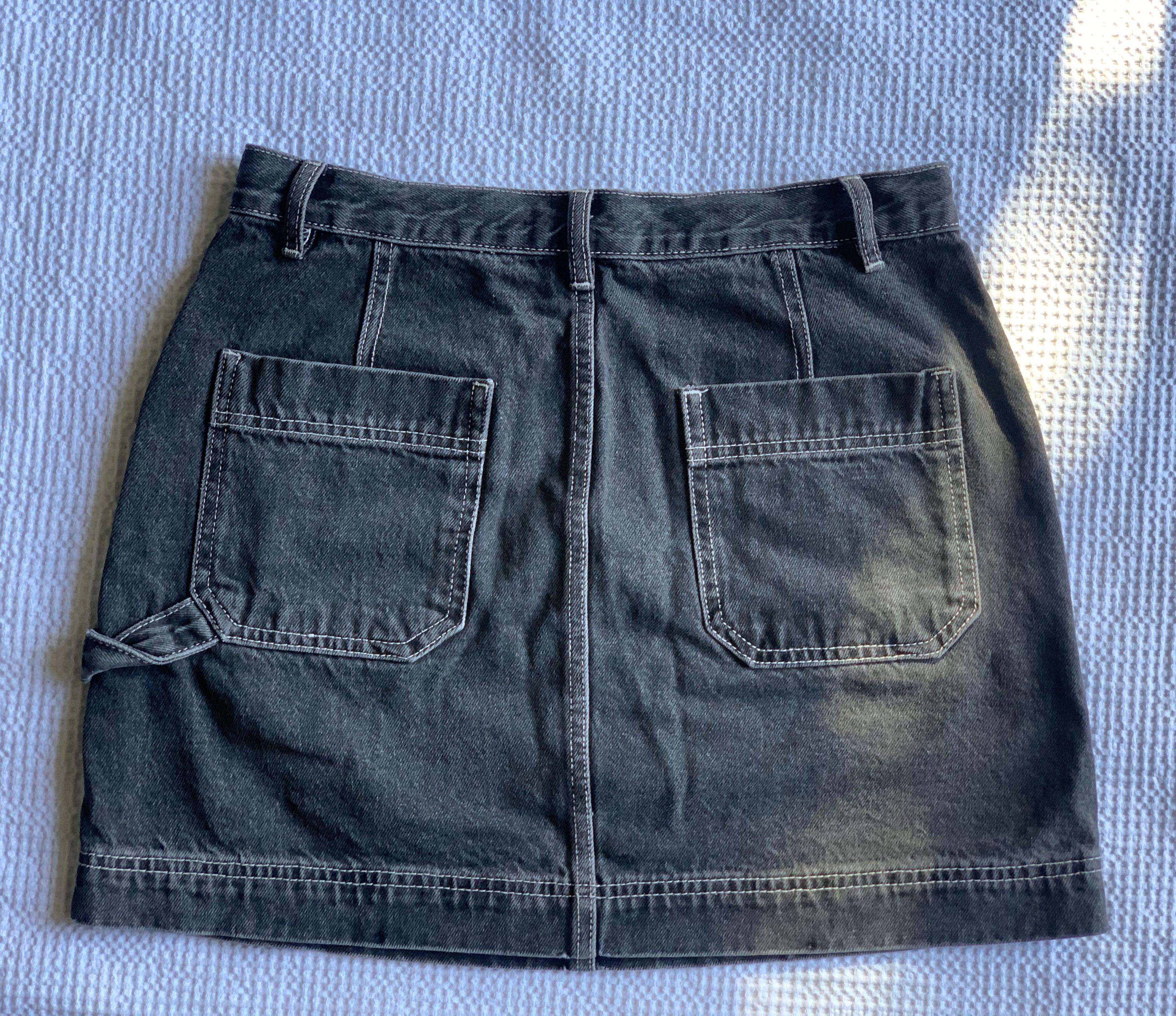 Glassons Denim Cargo Mini Skirt