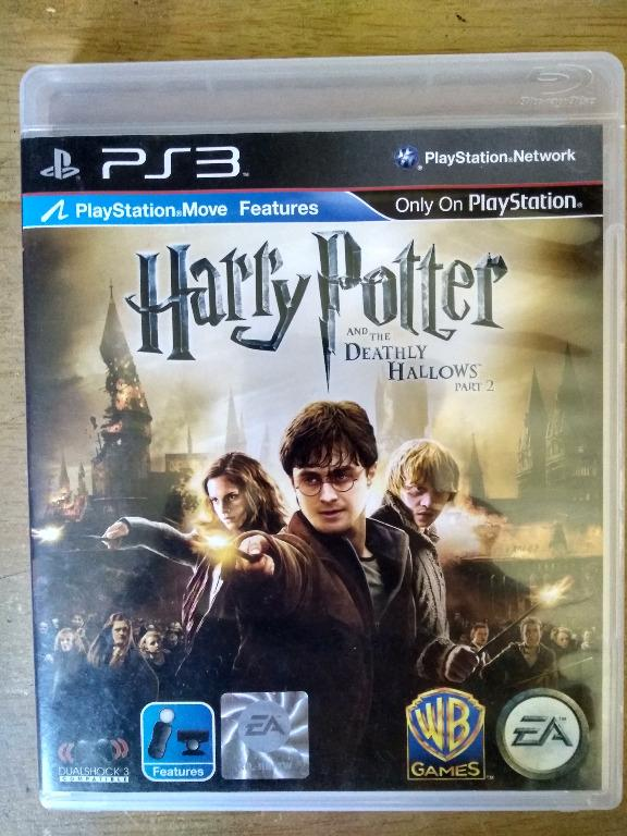 Harry Potter And The Deathly Hallows Part 2 Ps3 Game Video Gaming Video Games On Carousell