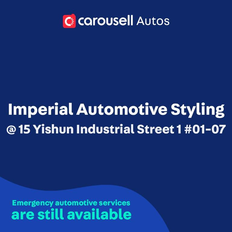 Imperial Automotive Styling - Emergency automotive services still available