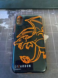 Lizardon (Charizard) Neon Soft  Cover  for iPhone X and XS