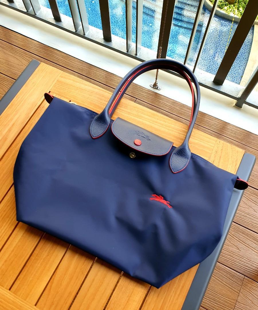Longchamp Le Pliage Club Shoulder Bag, Women's Fashion, Bags ...
