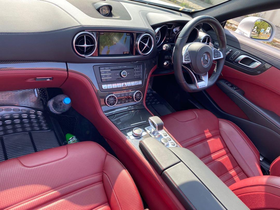 Mercedes-Benz SL63 5.5L AMG (A)
