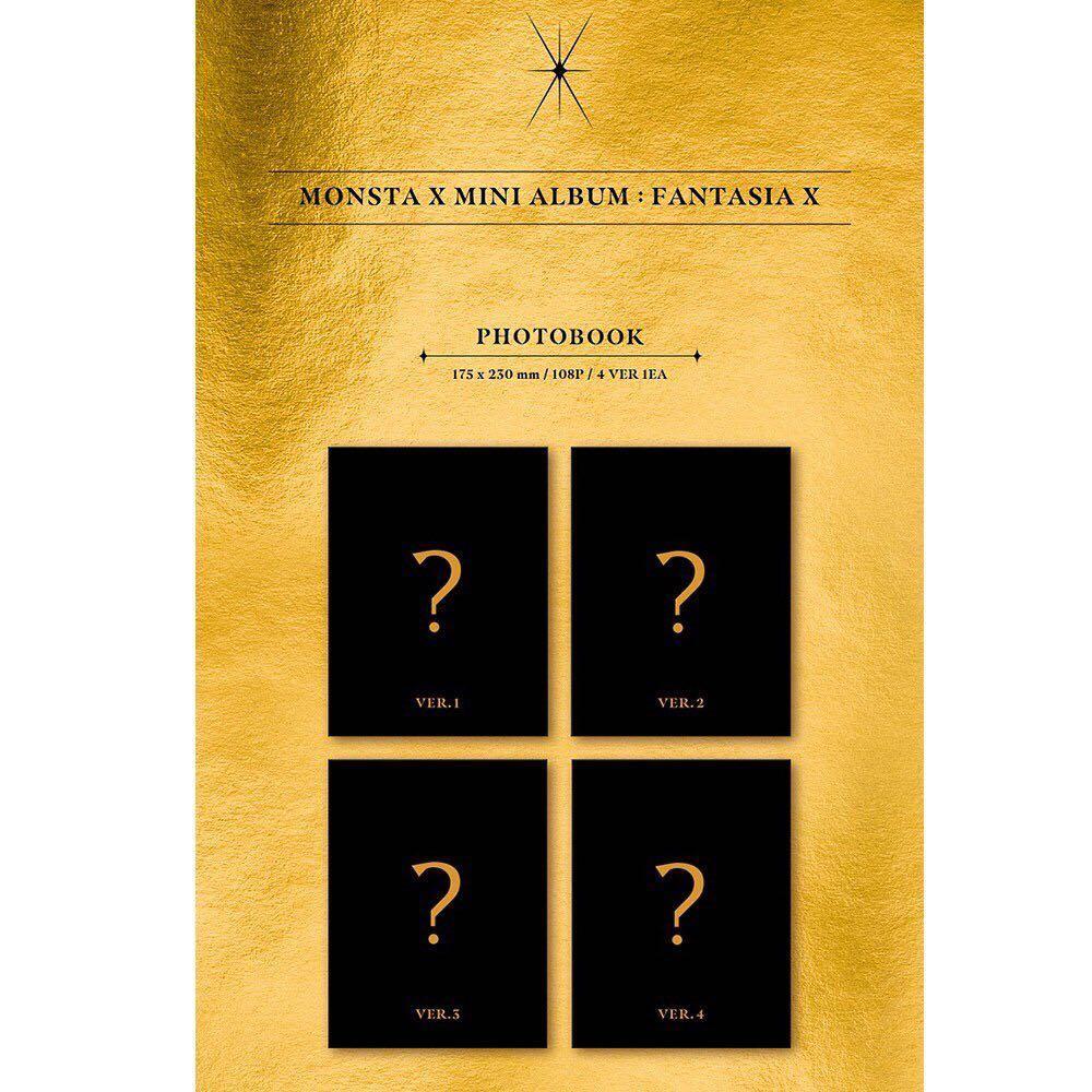 MONSTA X Mini Album [FANTASIA X]  + One Random Monsta X Photocard