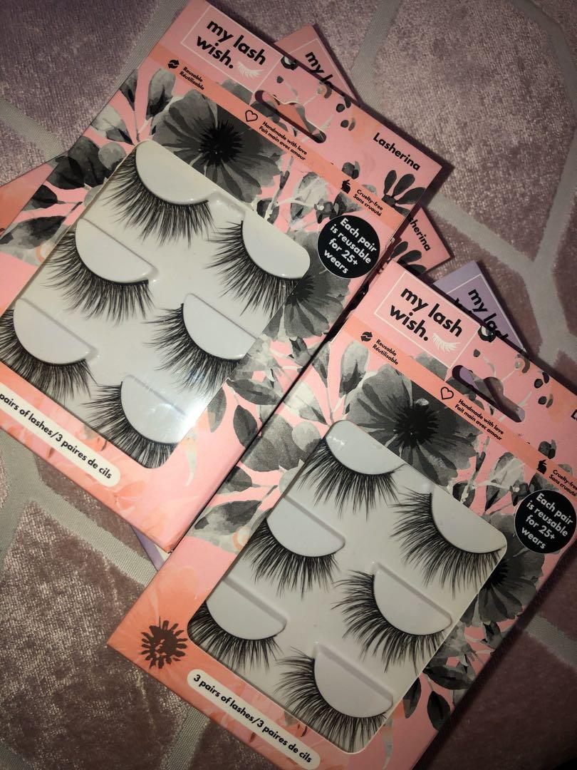 My Lash Wish Lashes -up to 25 wears