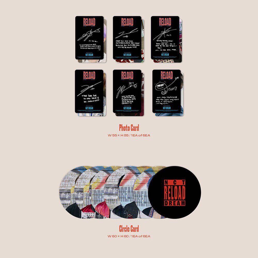 NCT DREAM [RELOAD] + One Random NCT DREAM Photocard