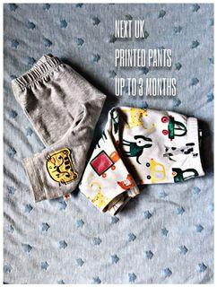 NEXT Animal Printed Pants 2pcs #CarousellBelanja