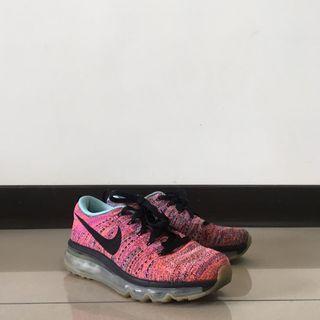 🌷二手//Nike fly knit air max  編織氣墊鞋 碼數23.5cm #海龜 #搬家囉