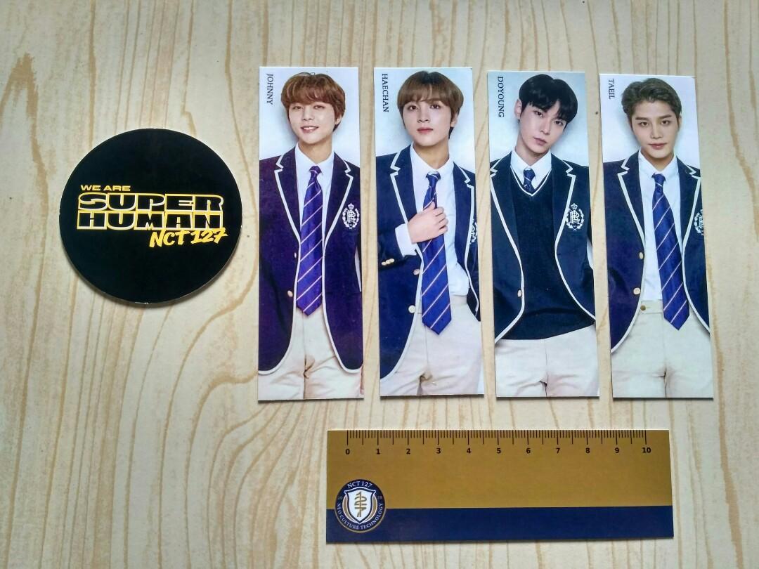 Ready circle card CC Lee Taeyong official dari album Superhuman NCT 127