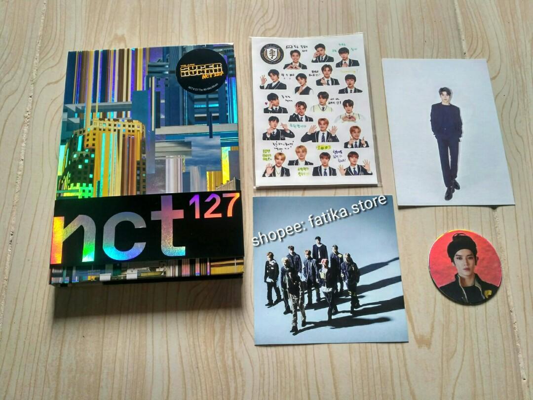 Ready NCT 127 Superhuman mini album cc circle card Taeyong