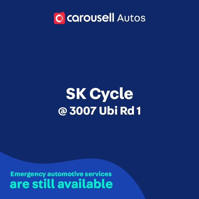 SK Cycle - Emergency automotive services still available