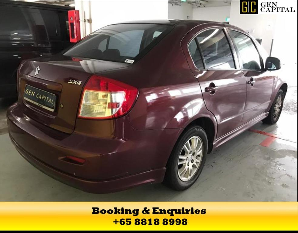 SUZUKI SX4 - JUST IN TIME FOR YOU TO PAMPER YOUR FAMILY FOR A RIDE IN SG! CONTACT MEGAN NOW AT +65 8818 8998