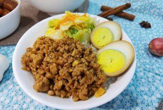 Taiwanese Braised Pork Rice/Minced Pork Rice
