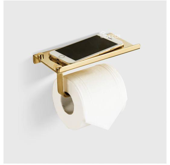 Toilet paper/Phone holder (4 pieces)