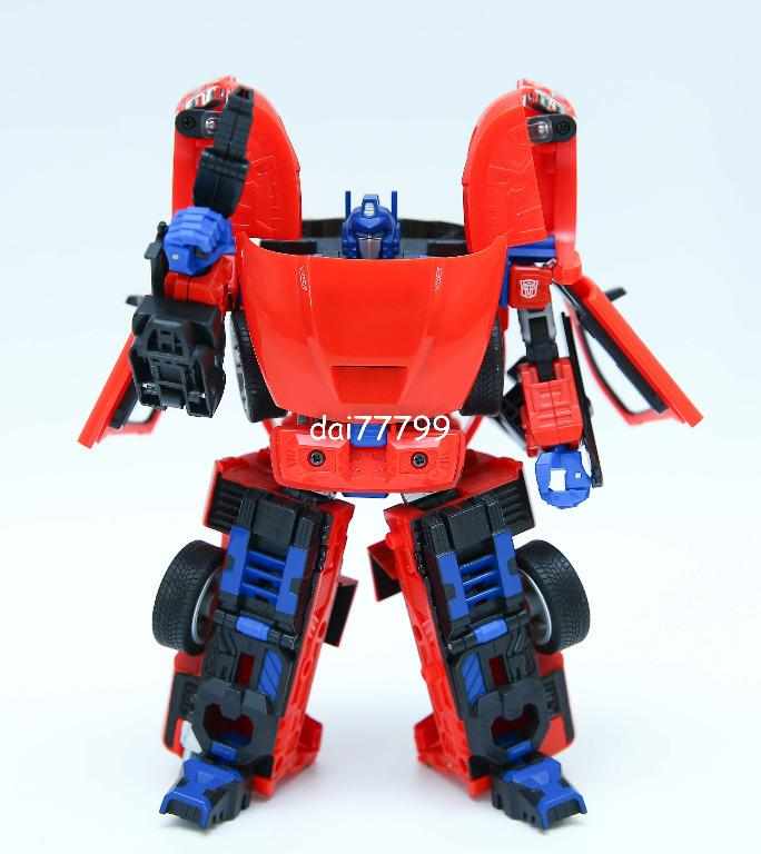 Transformers Alternators OPTIMUS PRIME Ram srt-10 parts figure