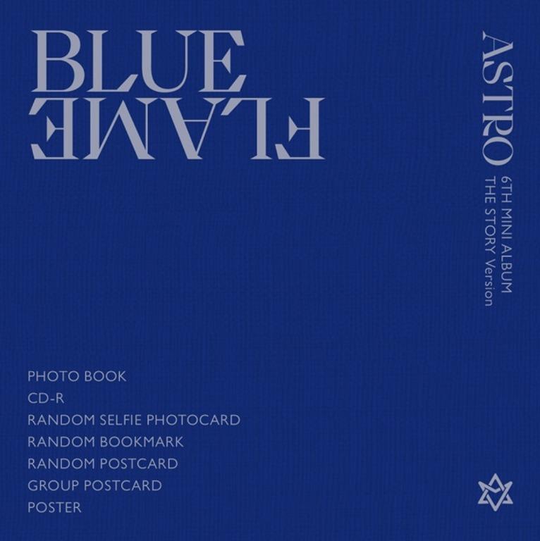 [UPCOMING STOCK] ASTRO Blue Flame (6th mini album)