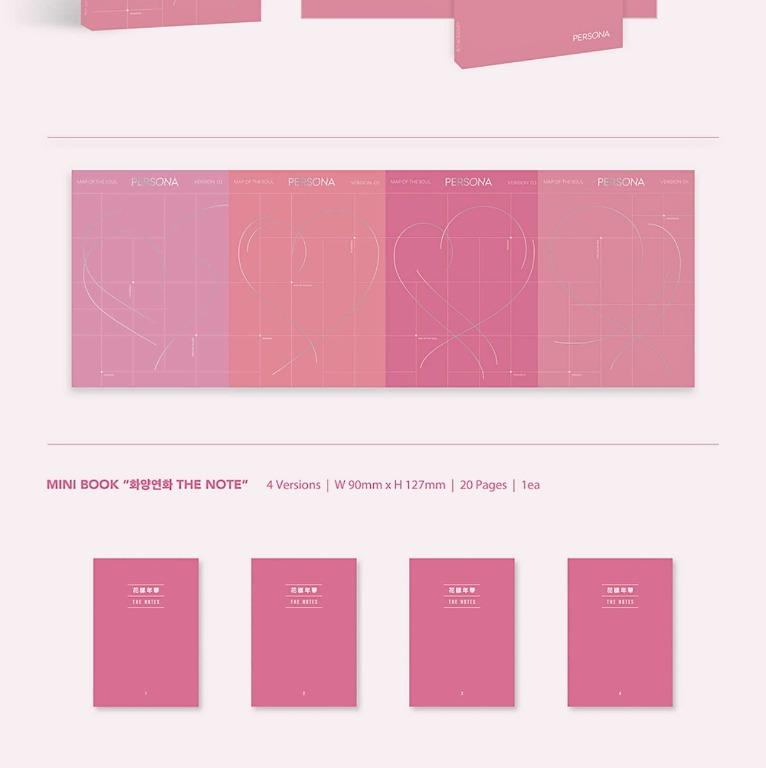 [UPCOMING STOCK] BTS Map of The Soul: Persona (6th mini album)