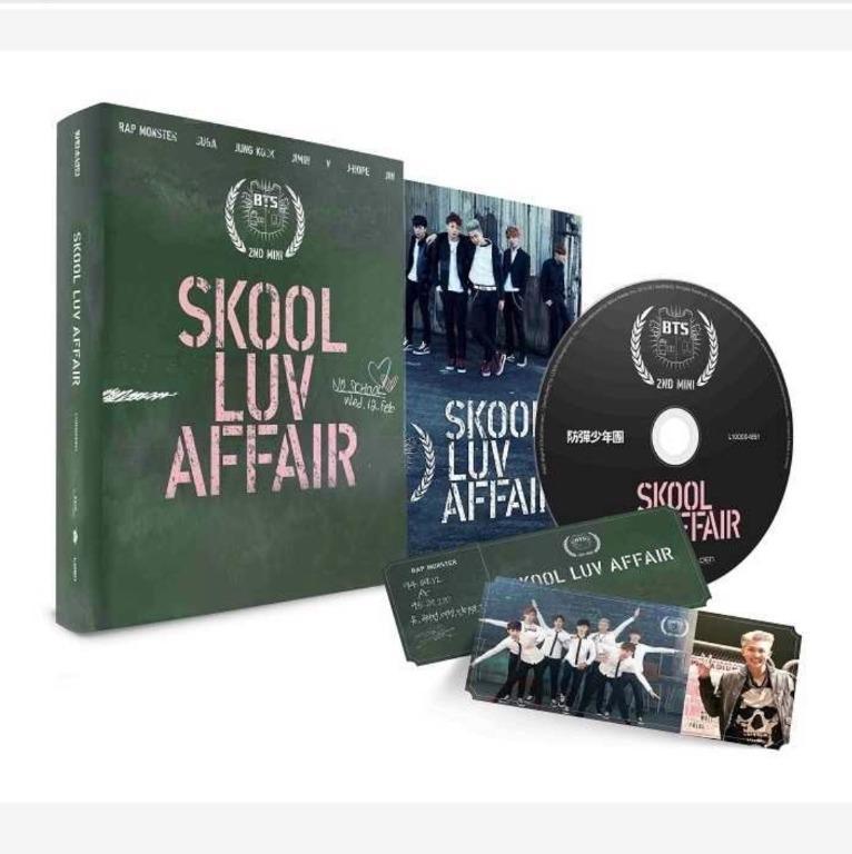 [UPCOMING STOCK] BTS Skool Luv Affair (2nd mini album)