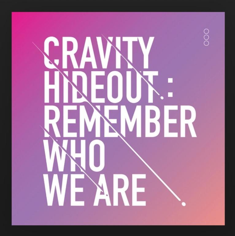 [UPCOMING STOCK] Cravity Season 1 Hideout: Remember Who We Are