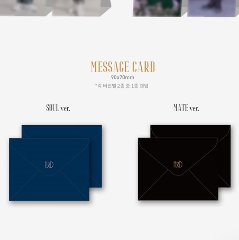 [UPCOMING STOCK] Hangyul & Dohyon: SOULMATE (1st mini album)