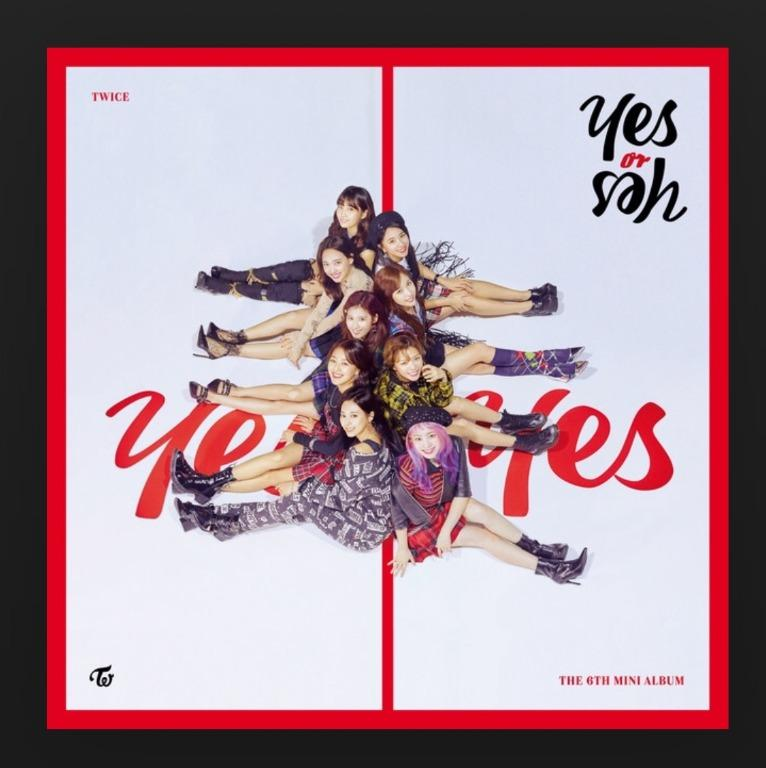 [UPCOMING STOCK] TWICE YES or YES (6th mini album)