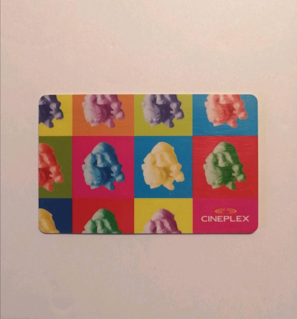 $15 Cineplex gift card