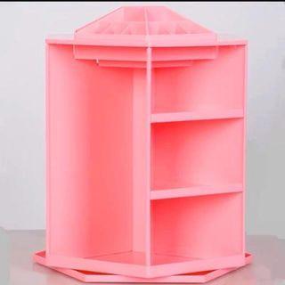 化妝品360度旋轉收納盒
