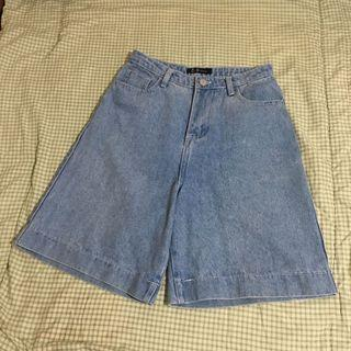 5分 顯瘦 牛仔短褲