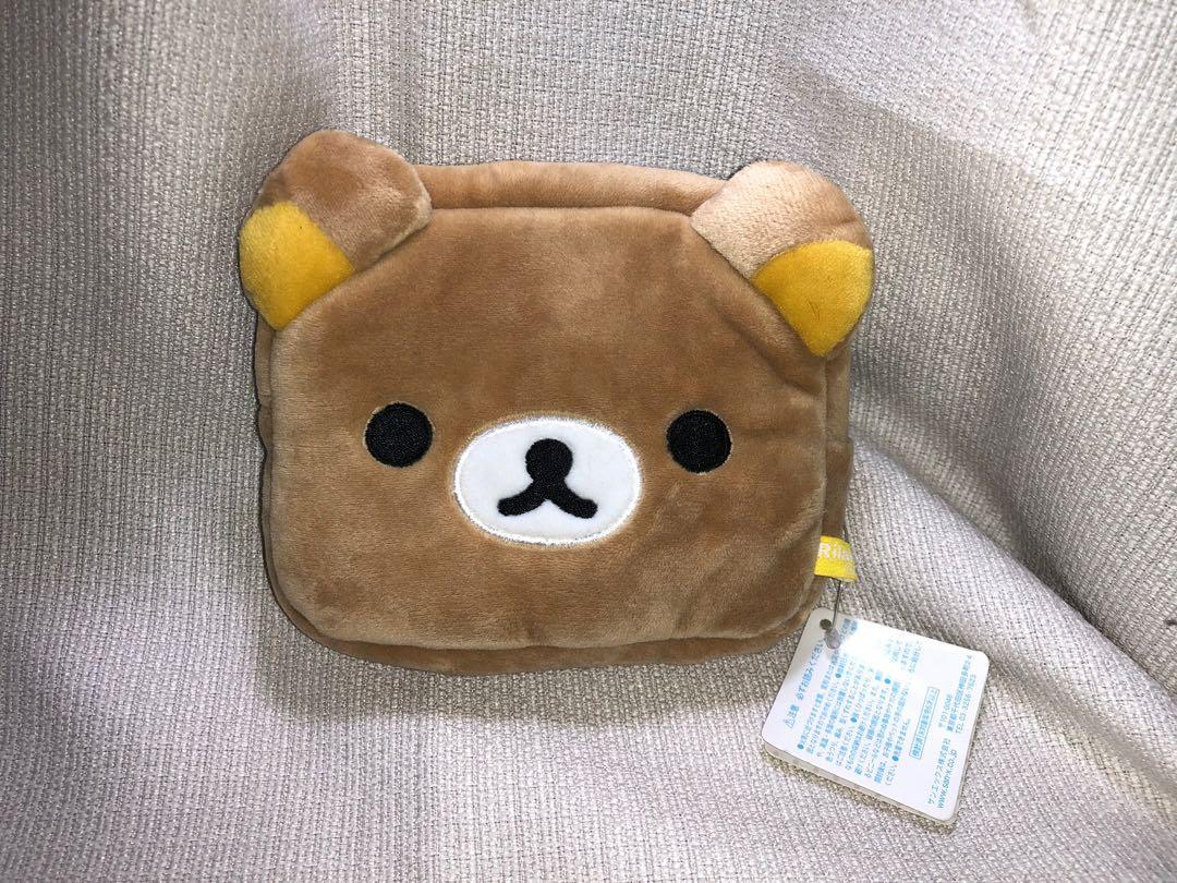 日本🇯🇵 正版 限量拉拉熊 絨毛化妝包