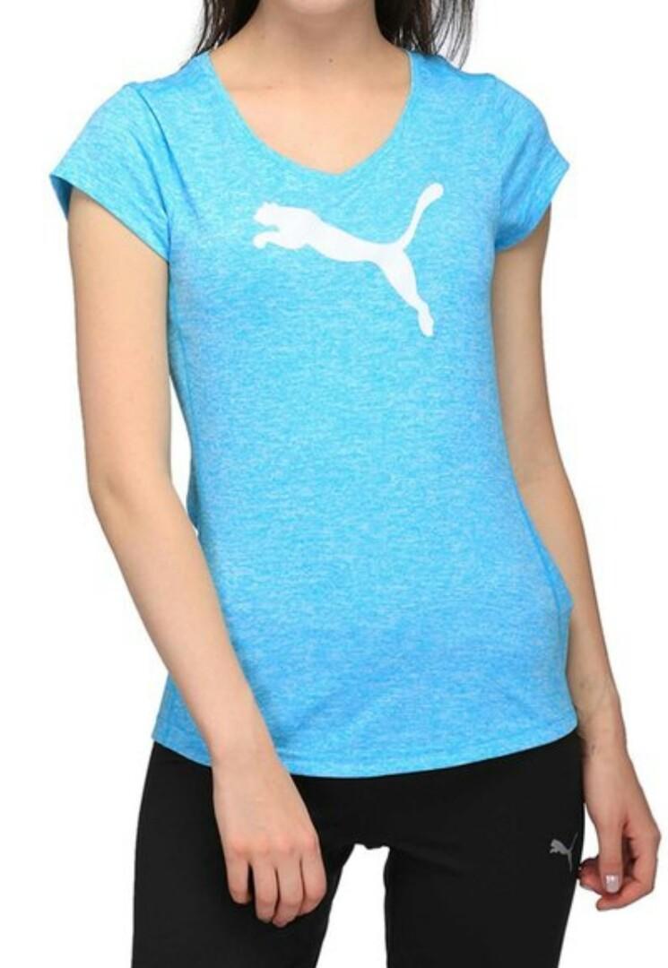 Blue Puma sports top