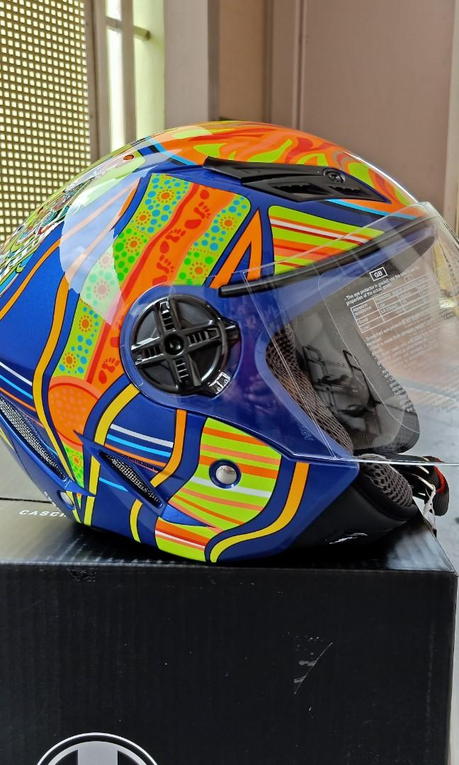 Bnib Agv Blade Five Continent L Motorcycles Motorcycle Apparel On Carousell