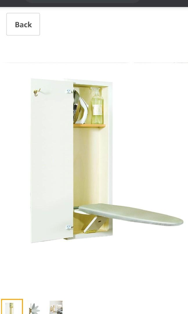 BRAND NEW in box Hide-Away in wall Ironing center