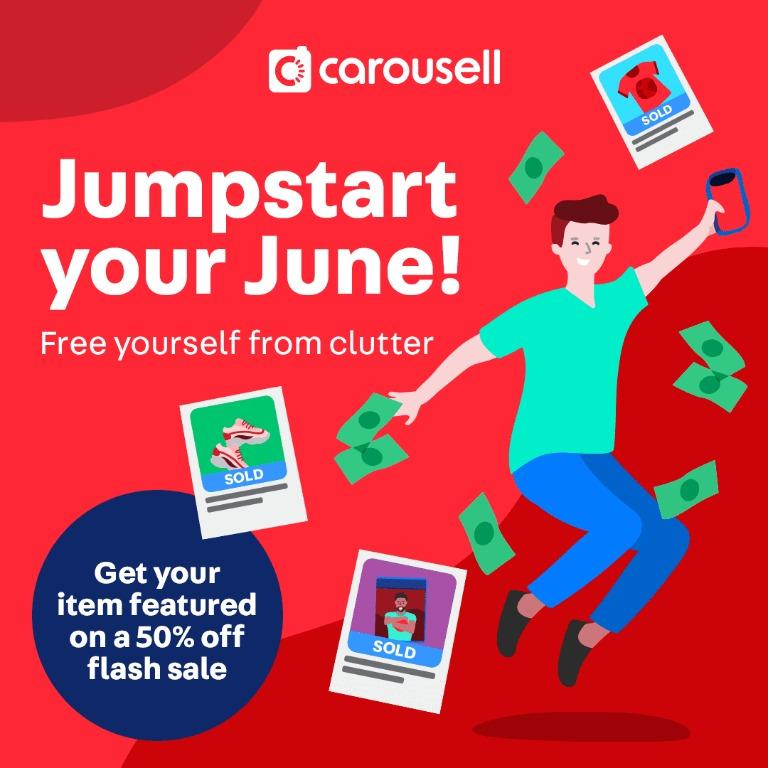 Call to list: Jumpstart Your June Flashsale