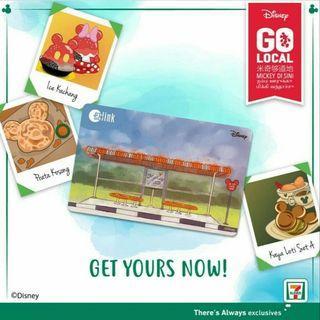 Disney Go Local Mickey Ezlink Card Collectible - Bus stop