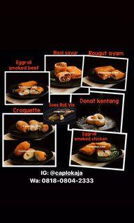 Frozen food risoles