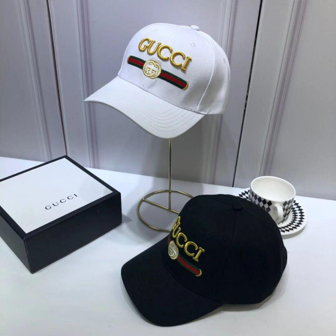 Gucci two colors hat free shopping