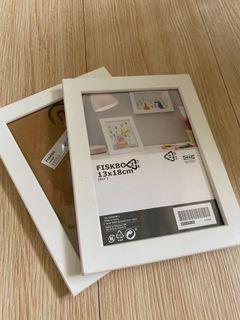 IKEA 全白相框/全新未使用