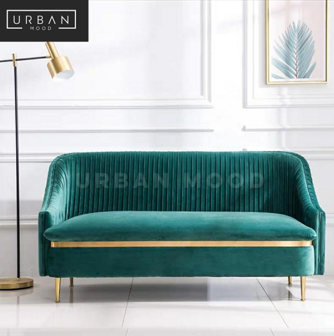 Islands Modern Velvet Sofa Furniture Sofas On Carousell