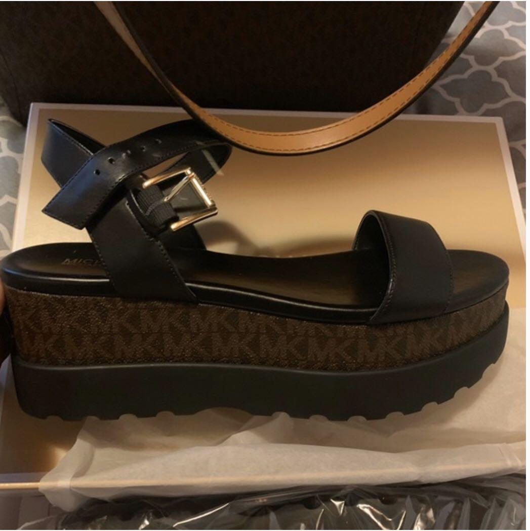 Michael Kors Marlon Flatform leather