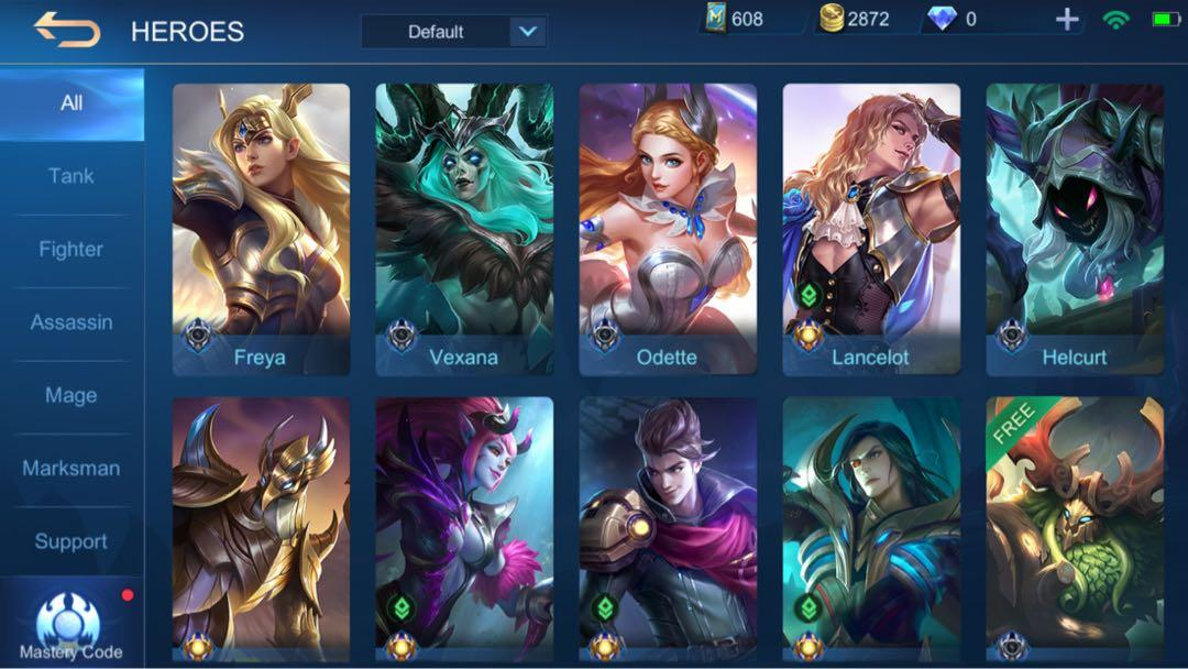 Updated December 21 2020 Mobile Legend Account Highest Rank Mythic 4 Gcash Sure Buyer Only Video Gaming Video Games On Carousell