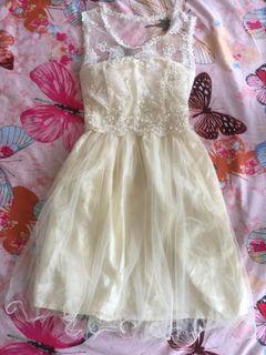 Graduation Lace Dress