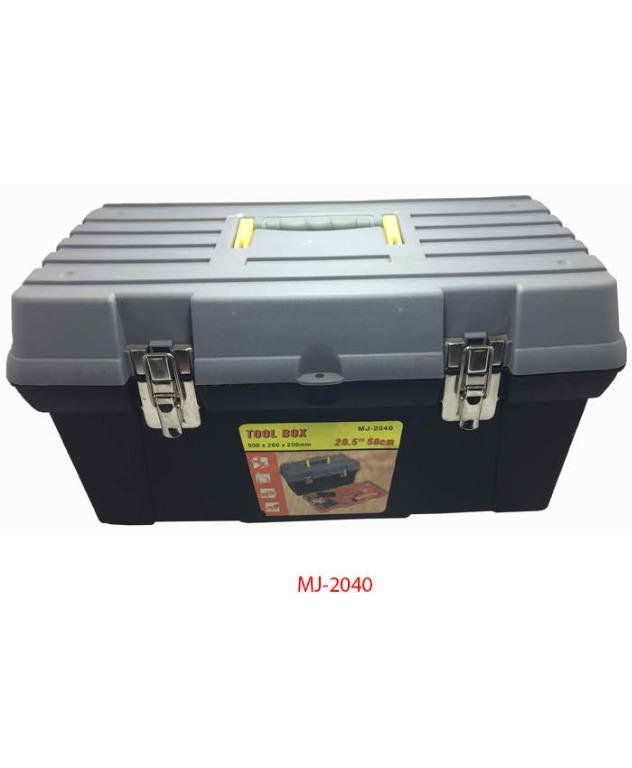 Plastic Tool Box W Tray Mj 2040 Construction Industrial Industrial Equipment On Carousell