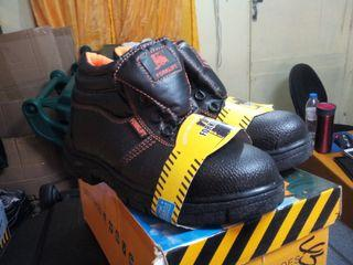safety shoes forklift brand