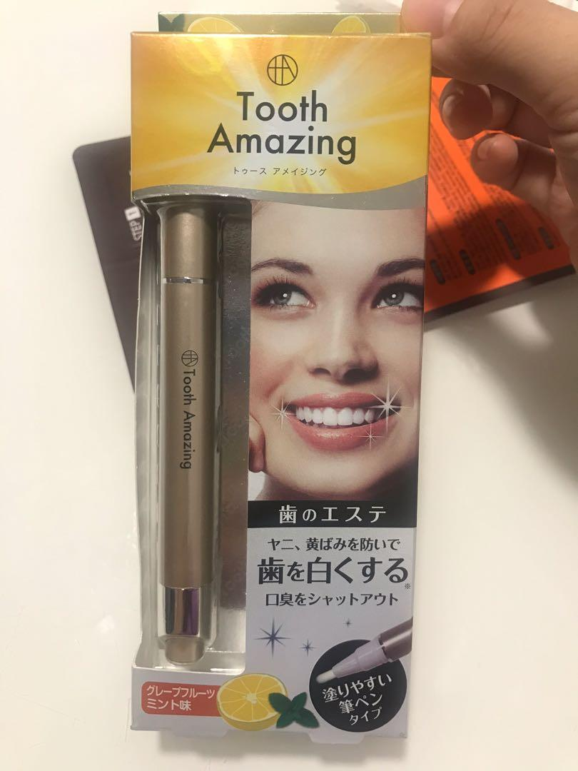 Tooth Amazing Teeth Whitening Pen Brush Remove Stains Made In