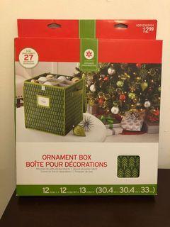 Brand new ornament organizer box