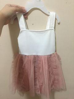 Crib couture dress