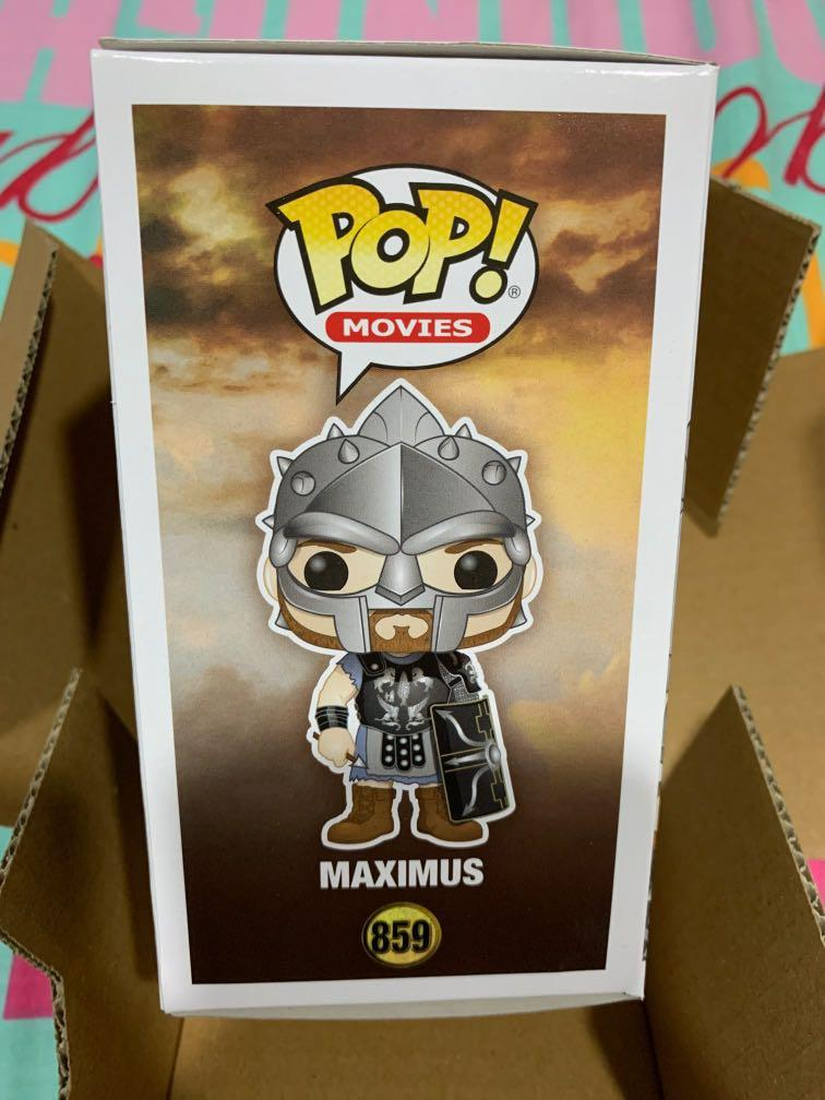 Protector Maximus with Helmet Gladiator Funko Pop Vinyl New in Mint Box