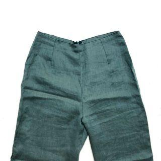 Pling High Waist Linen Pants