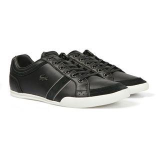 Lacoste Men's Black Rayford Brogue Sneakers